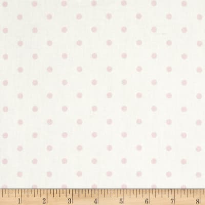 Premier Prints Mini Dots Twill White/Bella