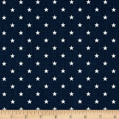 Premier Prints Mini Stars  Premier Navy Twill