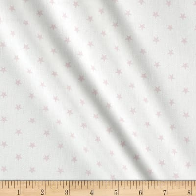 Premier Prints Mini Stars Twill White/Bella