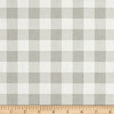 Premier Prints Plaid  French Grey Twill