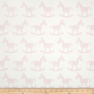Premier Prints Rocking Horse Twill White/Bella