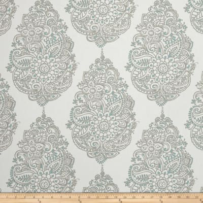 Premier Prints Yorkshire Twill Taupe/Canal