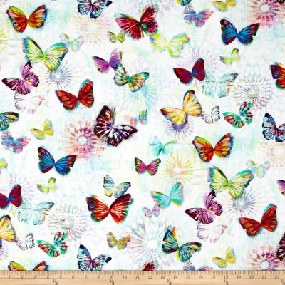 Crystalia Digital Print Butterfly Opal