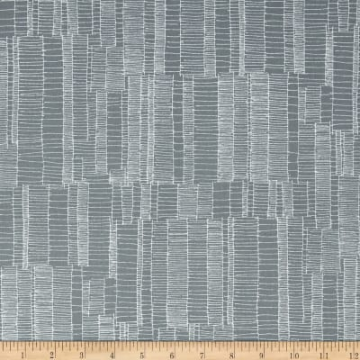 Kaufman Doe Jagged Stripe Shale