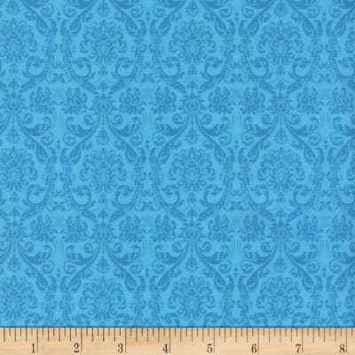 Timeless Treasures Tapestry Tonal Tapestry Turquoise