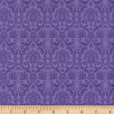 Timeless Treasures Tapestry Tonal Tapestry Purple