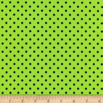 Timeless Treasures Polka Dot Green