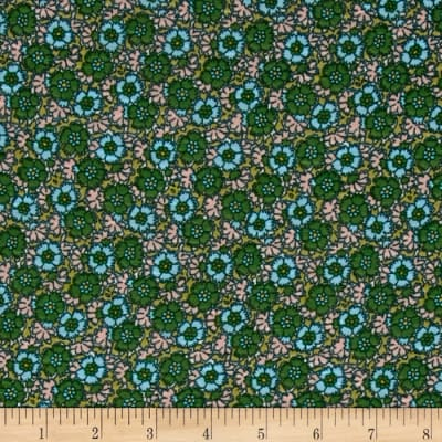 Jersey Knit Awesome Blossom Green