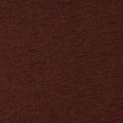 Cotton Rayon Jersey Knit Brown