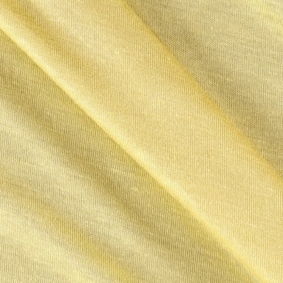 Rayon Spandex Jersey Knit Yellow