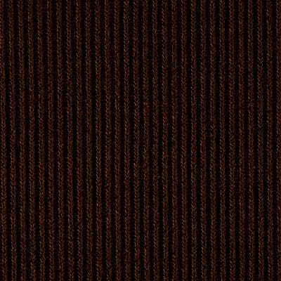 Hatchi Sweater Rib Knit Solid Burgundy