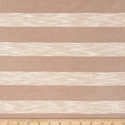 Stripe Sweater Knit Sand