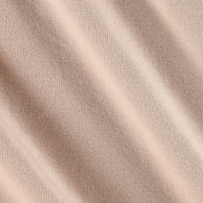 Designer Knit Velour/Terry Solid Light Pink