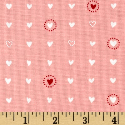 Moda Lil' Red Sweet Hearts Pink