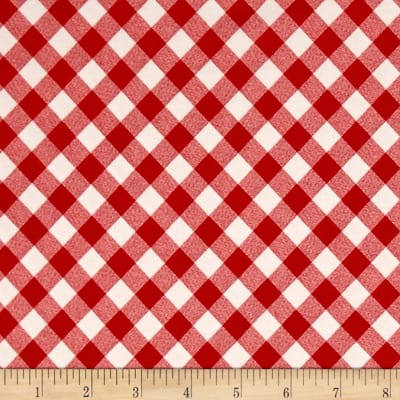 Moda Vintage Picnic Check Red