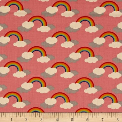 Moda Flying Colors Rainbows Strawberry