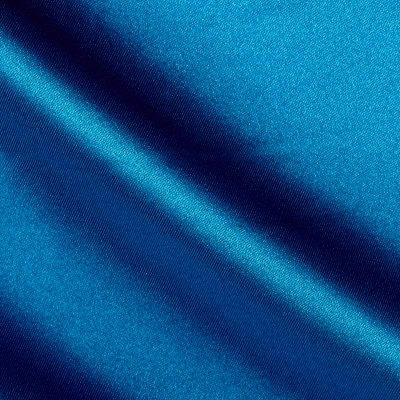 Duchess Satin Azure Blue