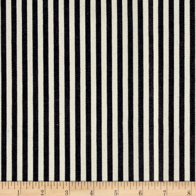 Kaufman Railroad Denim Ticking Stripe