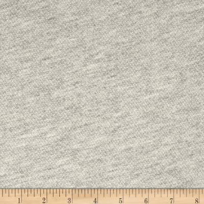 French Terry Knit Light Grey
