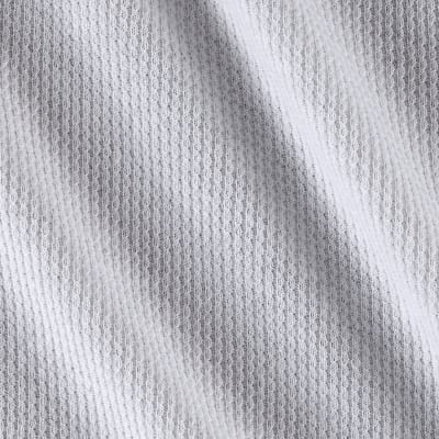 Thermal Knit Cotton White