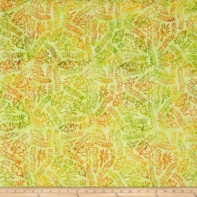 Timeless Treasures Tonga Batik Salsa Nature Hike Limeade