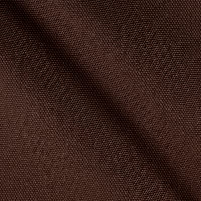 Kaufman Big Sur Canvas Solid Smoky Brown