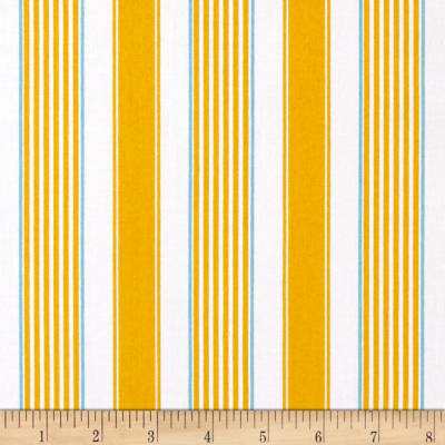 Butterfly Garden Stripe Yellow