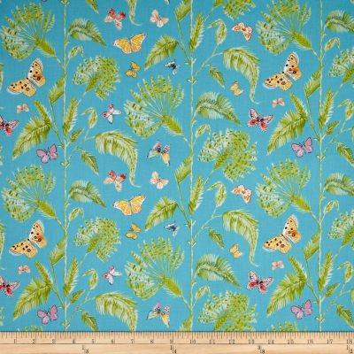 Butterfly Garden Butterfly Palm Turquoise