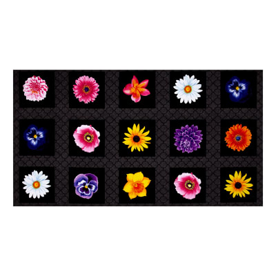 Kanvas Bloom With A View Flower Box Black