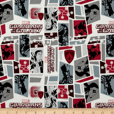 Marvel Guardians of the Galaxy Tiles Bordeaux