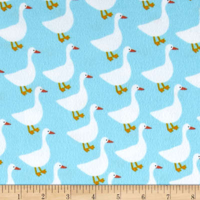 Kaufman Urban Zoologie Flannel Ducks Water