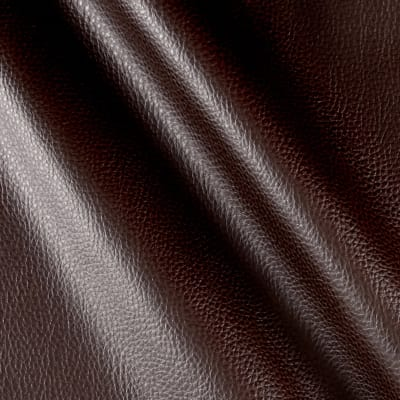 Faux Leather Textured Calf Brown