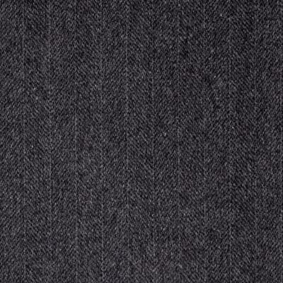 Telio Wool Blend Melton Fancy Intertwined Weave Grey/Black
