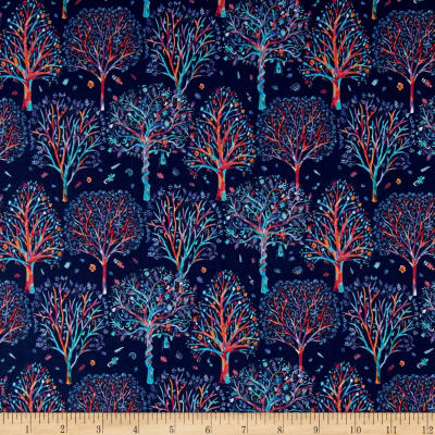 Liberty Fabrics Tana Lawn The Artists's Tree So Blue