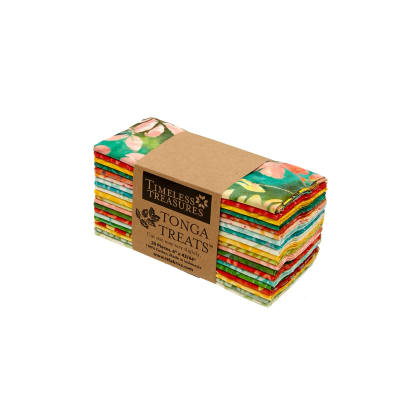 "Timeless Treasures Tonga Treat Salsa 6"" Strips"