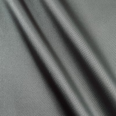 Silky Satin Charmeuse Solid Charcoal