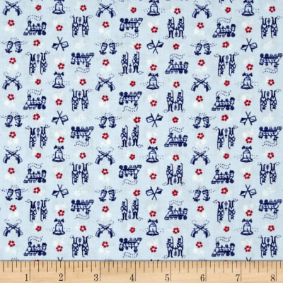 Mary Fons Small Wonders Americana Blue