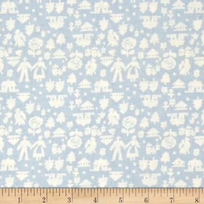 Mary Fons Small Wonders Netherlands Man and Woman Light Blue