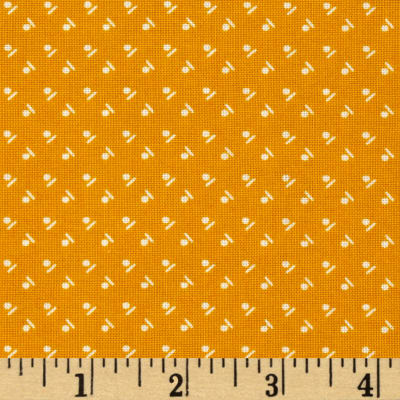 "Mary Fons Small Wonders 108"" Quilt Back Signature Ditsy Gold"