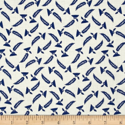 "Mary Fons Small Wonders 108"" Quilt Back Signature Feathers Cream"