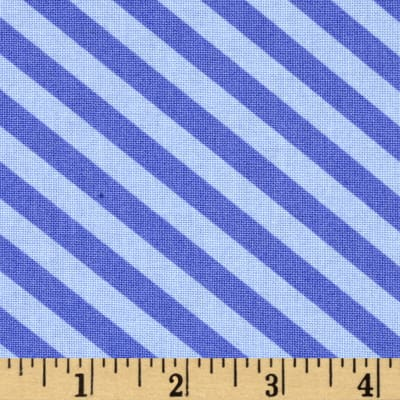Moda Grow Grown Up Stripe Petal Purple
