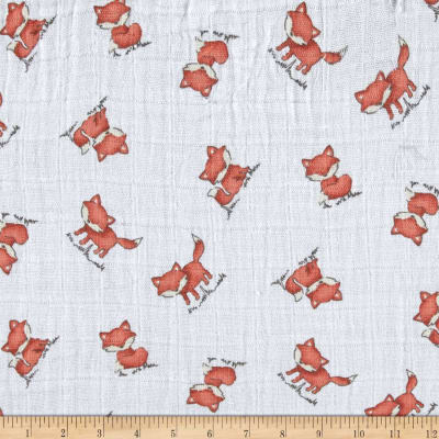 Shannon Embrace Double Gauze Red Fox Natural