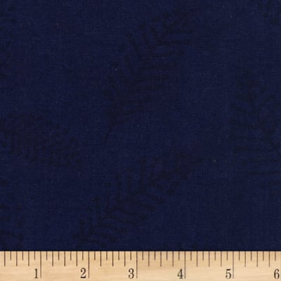 "Westrade 110"" Wide Flannel Quilt Back Fern Blue"