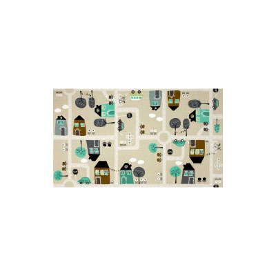 Roundabout Road Town Houses Olive/Gray