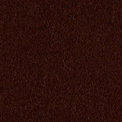 Wool Blend Melton Solid Brown