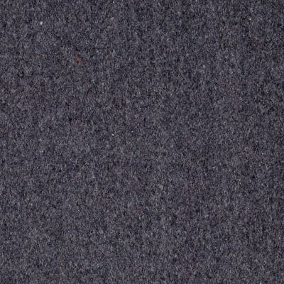 Wool Blend Melton Solid Heather Grey