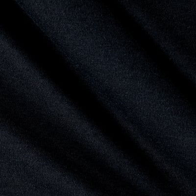 Fabric Merchants Cotton Jersey Knit Solid Black
