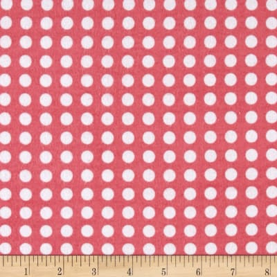 Comfy Flannel Dots Pink