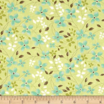 Moda Refresh Trailing Floral Grass