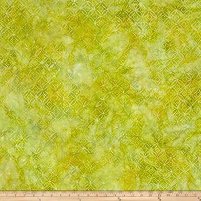 Kaufman Artisan Batiks Asian Legacy Lattice Kiwi